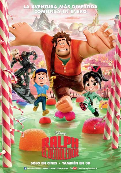 Wreck-It Ralph (2012) - Movie Poster