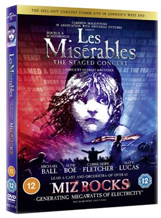 Les Misérables: The Staged Concert DVD
